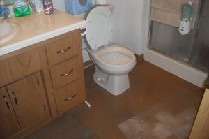 Sewer Loss in Bathroom