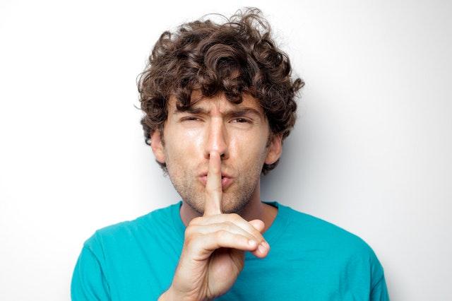 Talking behind someone's back - bad habits
