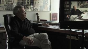"""aus """"Kongo Müller Eine deutsch-deutsche Geschichte"""" Walter Heynowski, DDR Filmemacher Foto: Sebatstian Hattop (c) a +r film"""