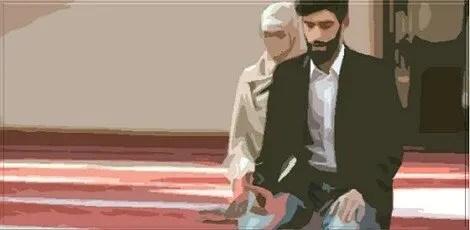 43. Gde stoit zhena v dzhamate so svoim muzhem - 43. Где стоит жена в джама'те со своим мужем?