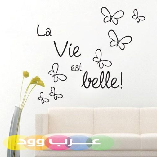 خواطر بالفرنسية عن الحياة