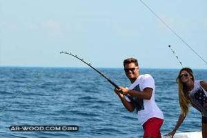 طريقة الصيد بالخيط من الشاطئ