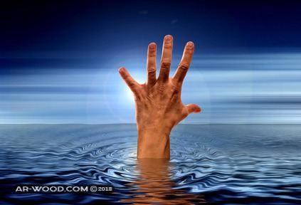 تفسير حلم رؤية شخص يغرق في البحر