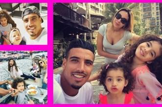 زوجة لاعب المنتخب المغربي نبيل درار تلهب مواقع التواصل الإجتماعي بجمالها!