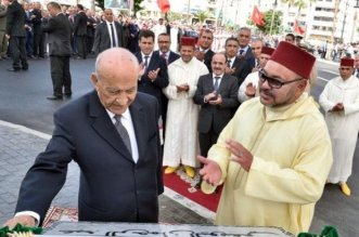 بالصورة.. رسالة بخط يد الملك محمد السادس إلى اليوسفي بعد صدور مذكراته