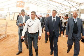 أخنوش يقف على سير تحضيرات فضاءات المعرض الدولي للفلاحة بمكناس
