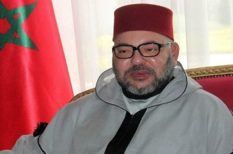 برقية تعزية ومواساة من الملك إلى أفراد أسرة المرحوم محمد كريم العمراني