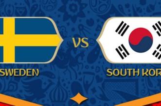 بث مباشر.. مشاهدة مباراة السويد وكوريا الجنوبية