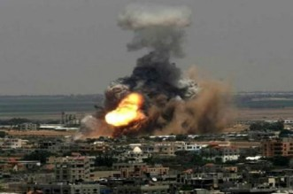 إسرائيل تقصف شرق غزة
