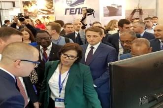 أخنوش يعرض خبرة المغرب في مجال الصيد البحري بمعرض المأكولات البحرية في روسيا
