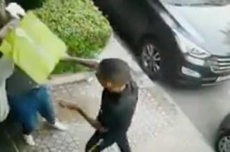 بالفيديو – أوقعهما فيديو على فايسبوك.. الأمن يعتقل لصين بمراكش