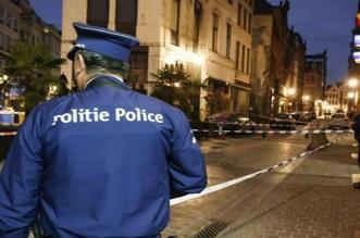 هجوم بسكين على ضابط شرطة وسط بروكسل