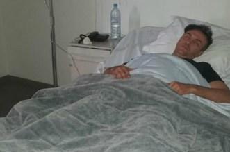 من المستشفى.. أول تدوينة لحاتم إدار بعد الحادثة الخطيرة