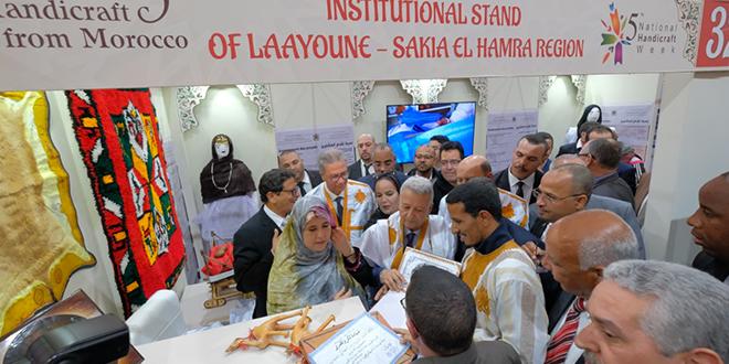 بالصورة.. ساجد: الصناعة التقليدية قطاع أساسي في الاقتصاد الوطني