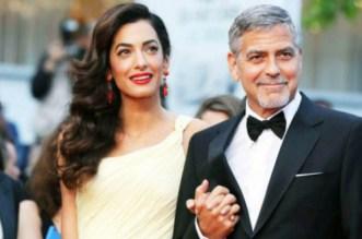 """الممثل العالمي جورج كلوني يكشف عن تعرض عائلته لخطر """"داعش"""" بسبب زوجته"""