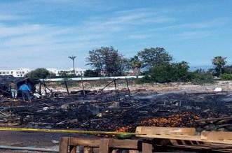 حريق مهول بسوق في تمارة يخلف خسائر مهمة