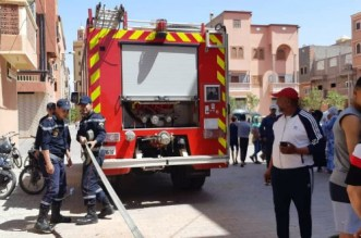 "اندلاع حريق داخل فيلا بمراكش بسبب ""شارجور"""
