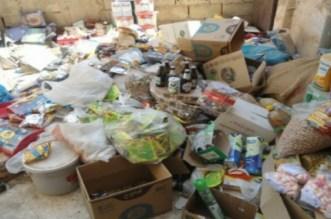 """إتلاف أطنان من المواد الغذائية الفاسدة موجهة لـ""""موائد رمضان"""""""