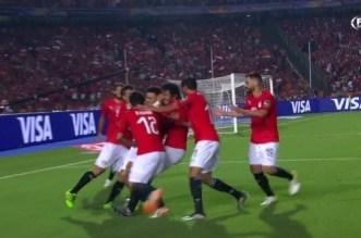 """فيديو.. أول هدف في """"الكان"""" لفائدة المنتخب المصري"""
