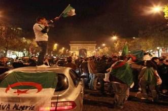 توقيف 282 شخصًا في فرنسا عقب تأهل الجزائر