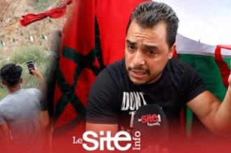 مشهد مؤثر.. جزائريون يطلبون العلم المغربي على الحدود وهكذا وصلهم-فيديو