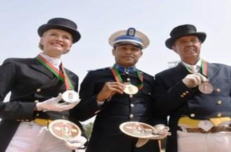 خيالة الأمن تحرز على الميدالية الذهبية للسنة الثانية