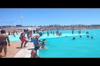 بعد أسابيع من افتتاحه.. فضائح تهز أكبر مسبح في إفريقيا