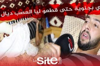 حالة إنسانية مؤثرة بالبيضاء.. اعتداء شنيع يسبب عاهة لمعيل أسرة – فيديو