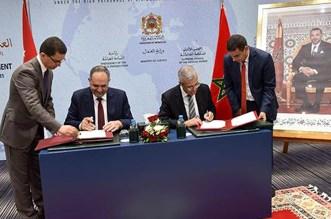 المغرب والأردن يوقعان اتفاقية تعاون قضائي