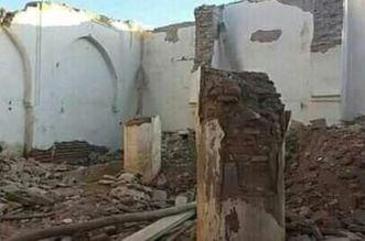 حصيلة أولية.. وفاة عامل وإصابة آخرين في حادث سقوط سور مسجد بتارودانت