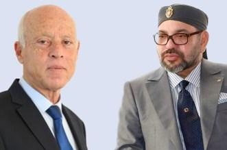 الملك يهنئ قيس سعيد على انتخابه رئيسا للجمهورية التونسية