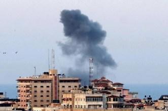 استشهاد 3 فلسطينيين و18 مصابا في سلسلة غارات إسرائيلية بغزة