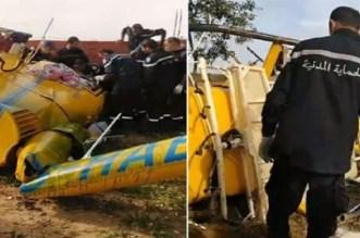 تحطم طائرة تونسية ومقتل قائدها