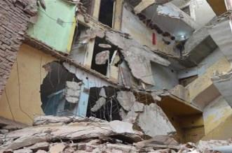 التساقطات تتسبب في انهيار منزل بالقصر الكبير
