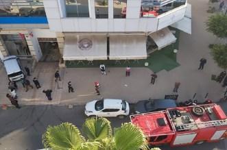 اندلاع النيران بمبنى تابع لوزارة التجهيز والنقل بالرباط