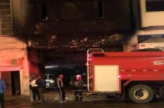 اندلاع حريق في مستودع للحافلات بالبيضاء