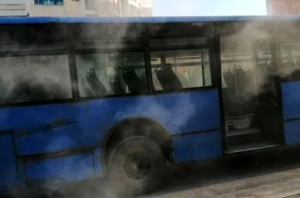 اندلاع النيران في حافلة بالبيضاء يدفع الركاب إلى الفرار