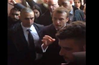 بالفيديو.. ماكرون يوبخ رجال أمن إسرائيليين أثناء زيارة كنيسة في القدس