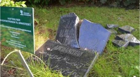 تأبين موتى مسلمين في الدنمارك بعد اعتداء على مقبرتهم