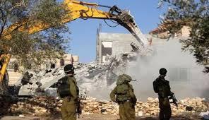 إسرائيل تواصل هدم منشآت فلسطينية غرب رام الله
