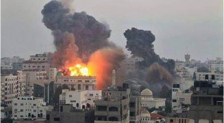 إصابة فلسطيني في سلسلة غارات إسرائيلية جديدة على قطاع غزة