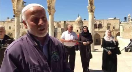 خطوات تصعيدية للاحتلال ضد حراس المسجد الأقصى