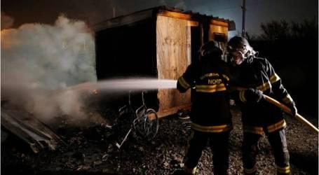 حريق يدمر مخيماً للاجئين في فرنسا