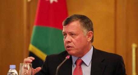 العاهل الأردني يجدد دعمه لإقامة دولة فلسطينية مستقلة