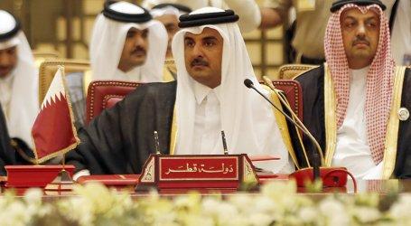 أمير قطر: نهنئ الفلسطينيين بالوحدة ونأمل رفع الحصار عن غزة