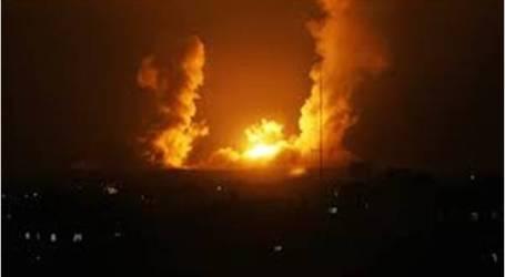 إسرائيل تقصف موقعا عسكرياً يتبع لحركة حماس في غزة