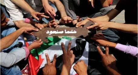 الولايات المتحدة تحث على التظاهر السلمي خلال مسيرة (العودة الكبرى) بغزة