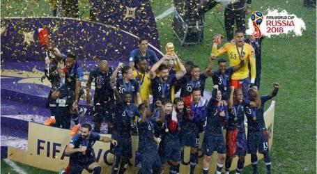 فرنسا بطل العالم للمرة الثانية بعد غياب 20 عامًا