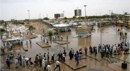 تقرير أممي: 195 ألفاً تضرروا من الأمطار والفيضانات في السودان