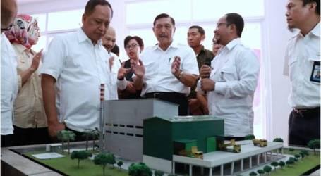 الوزير باندجيتان يزور محطة تحويل النفايات إلى طاقة في بيكاسي